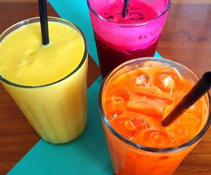 smoothie and yummy image