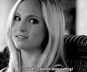 food, candice accola, and tvd image