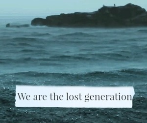 quote, waves, and sea image