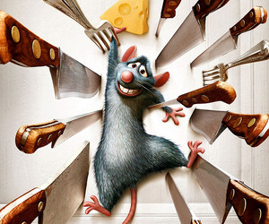 disney, ratatouille, and knife image