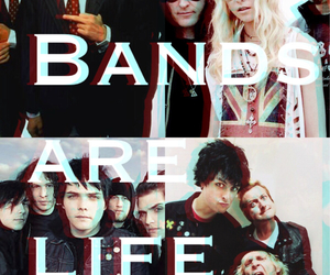bands, emo, and green day image