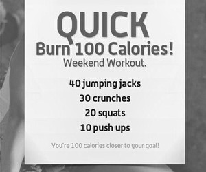 workout, goal, and weekend image