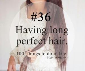 hair, long, and yes image