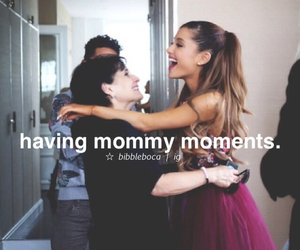 hugs, mom, and arianagrande image