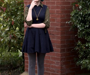 fashion, fashion blogger, and wool tights image