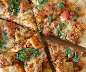 Chicken, indian, and pizza image