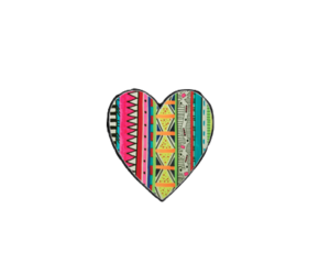 heart, love, and colors image
