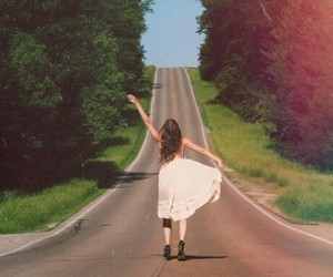 girl, freedom, and free image