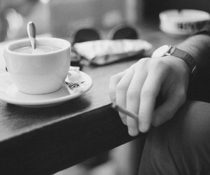 coffee, indie, and cigarette image