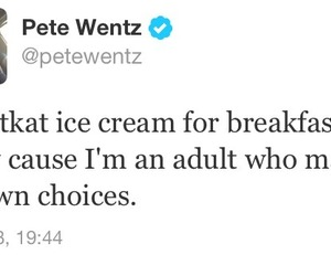 funny, pete wentz, and twitter image