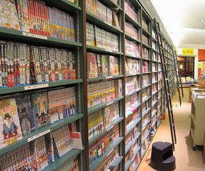 manga, anime, and books image