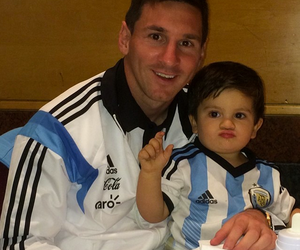 messi, argentina, and Thiago image