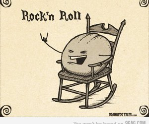 funny, rock and roll, and rock n roll image