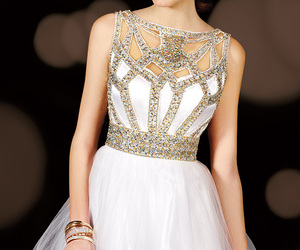 homecoming dress and beaded image