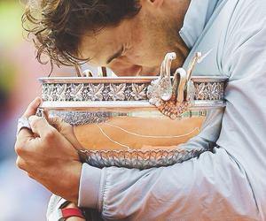 Rafael Nadal and tennis image