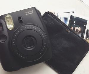 polaroid, black, and fujifilm image