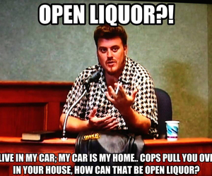 alcohol, cars, and trailer park boys image