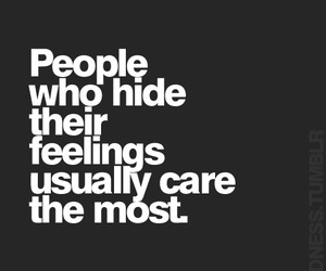 care, feelings, and hide image