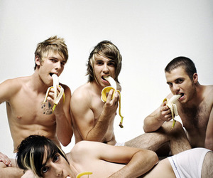 all time low, alex gaskarth, and banana image