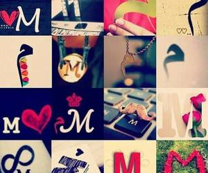 M, love, and عربي image