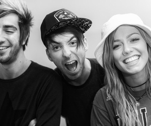 all time low, tonight alive, and jack barakat image
