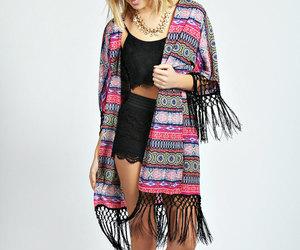fashion, kimono, and summer fashion image