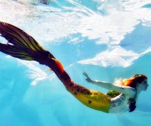 fantasy, summer, and mermaid image