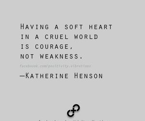 quote, courage, and brave image