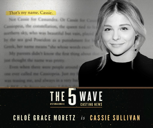 the 5th wave, chloe grace moretz, and cassie sullivan image