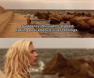 blonde, quote, and Scarlett Johansson image
