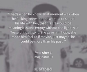 after, tessa, and fanfiction image