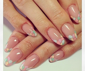 nail art, nail polish, and cute image
