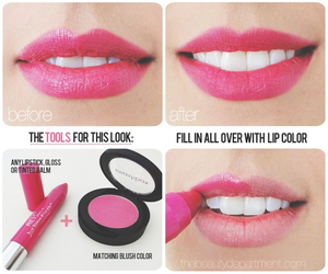 lips, lipstick, and diy image