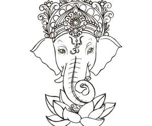 Ganesh, inde, and croyance image