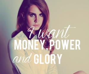 lana del rey, money, and power image