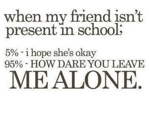 friend, funny, and leave me alone image