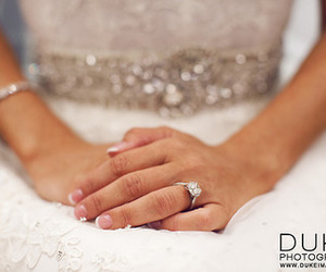 belt, diamonds, and dress image