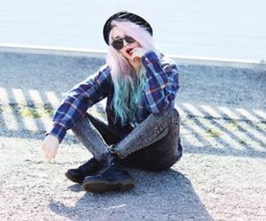 hair, punk, and swag image