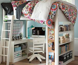 beautiful, bed, and dream room image