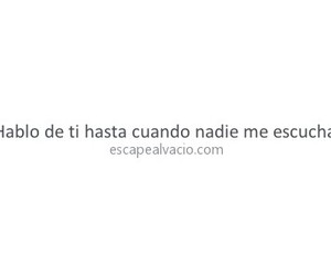 amor, frases, and nadie image