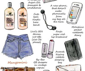 fashion, drawing, and girly image