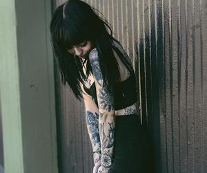 tattoo, girl, and hannah snowdon image