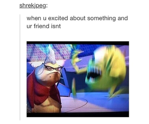 funny, friends, and monsters inc image