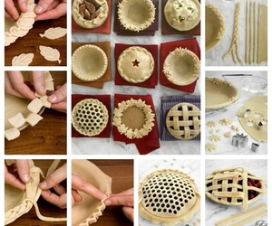 food, pie, and diy image