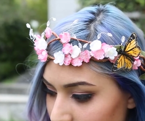accessories, butterflies, and girly image