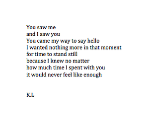 girl, poem, and kl poetry image
