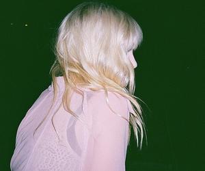 girl, grunge, and blonde image