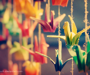 origami, colors, and colorful image