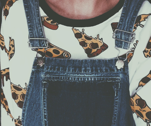 pizza, grunge, and hipster image