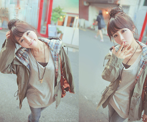 cute, ulzzang, and kfashion image